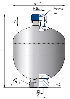 Гидроаккумуляторы Схема
